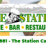 The Station Cafe Banner –