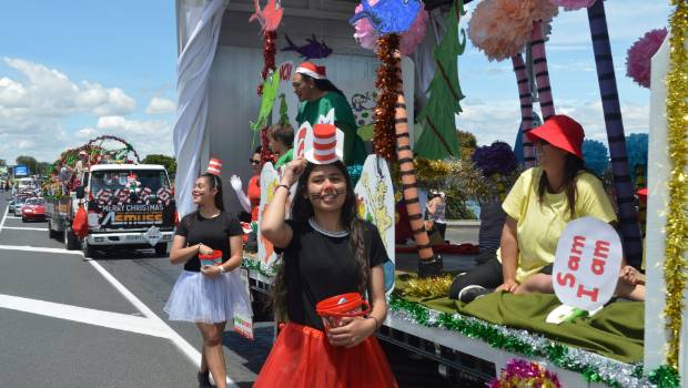 Enter your Christmas parade float ideas in Taupo now!