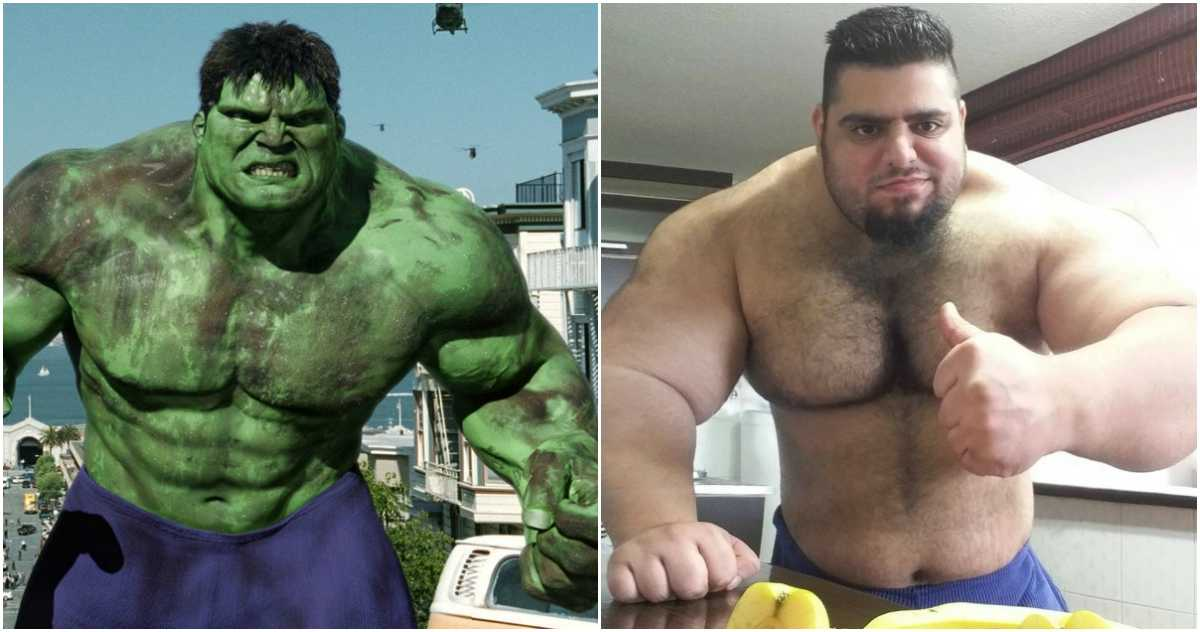 "Iranian Hulk"" ready to fight in Bare-knuckle Fighting"